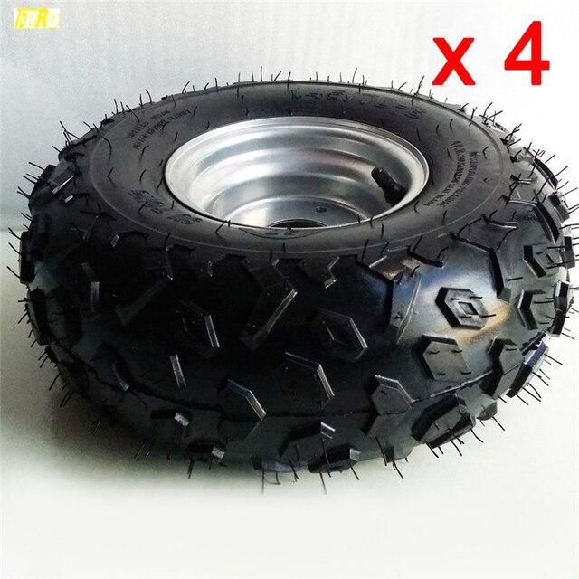 Jantes e pneus moto 4