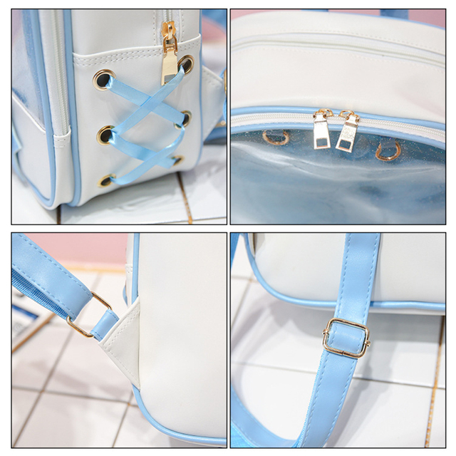 Kawaii Soft Backpack with Bow
