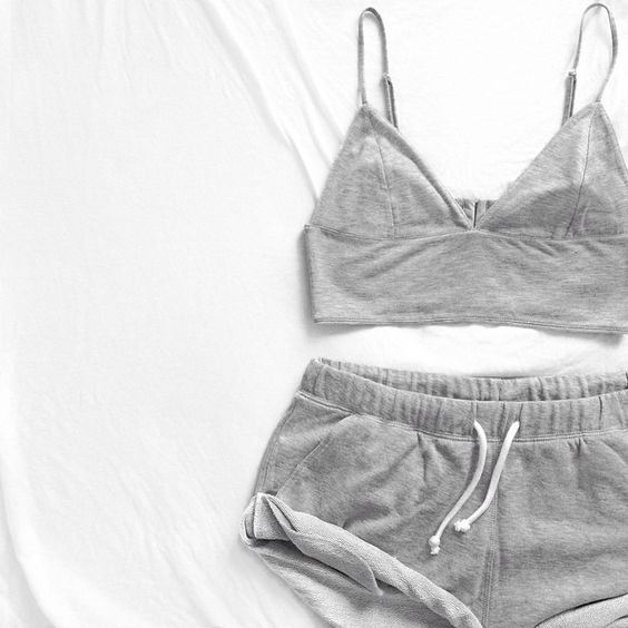 2017 Fashion Nightwear Set Vest + Short Pants Sleepwear Womens Casual Clothes Underwear 2PCS Pajama Sets