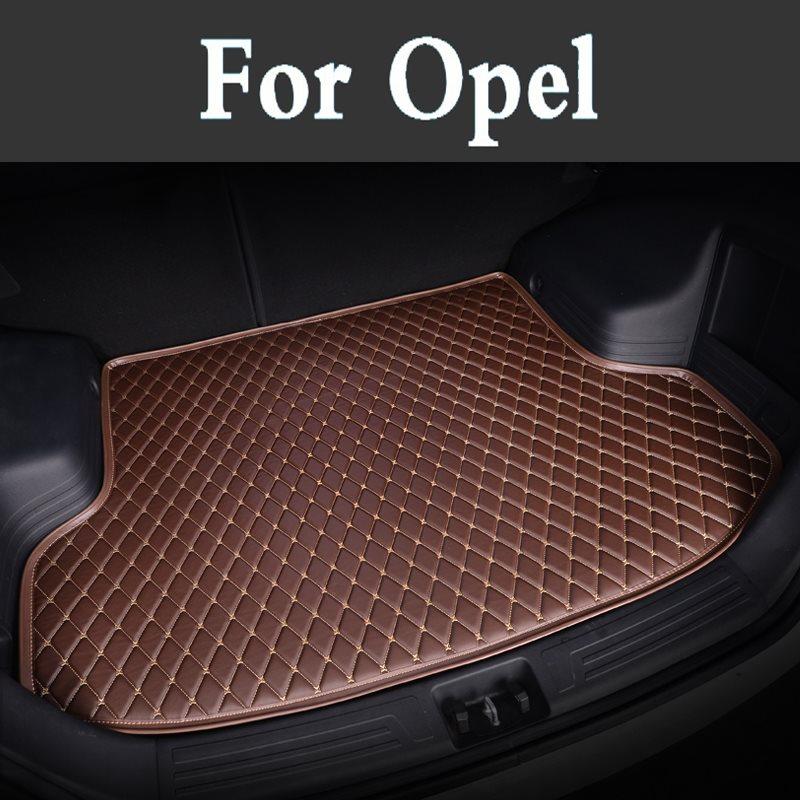 Hot Cleaning Maintenance Good Mats!Special Trunk Cargo Mats Waterproof Boot Carpets For Opel Astra Antara Vectra Zafira Insignia