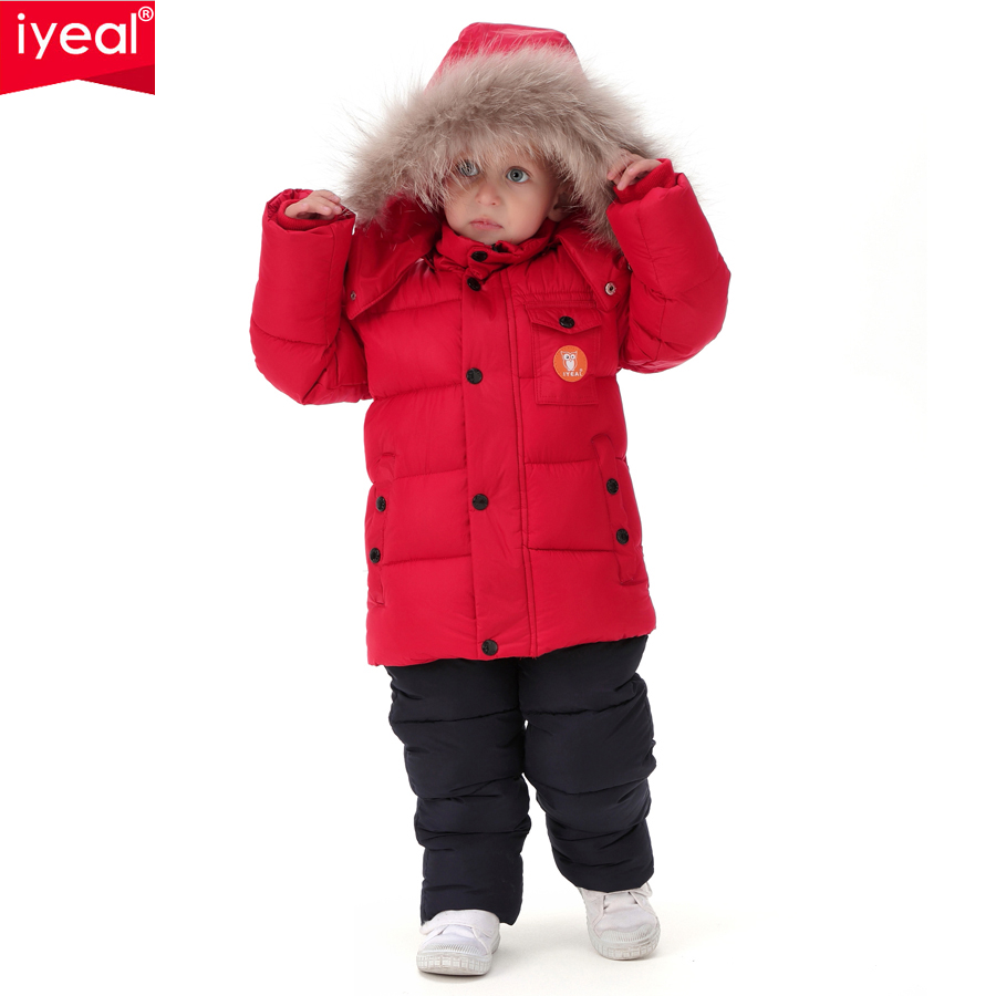 IYEAL-2017-Russia-Winter-Children-Clothing-Set-for-Infant-Boys-Down-Cotton-Coat-Jumpsuit-Windproof-Ski-Suit-Kids-Baby-Clothes-2