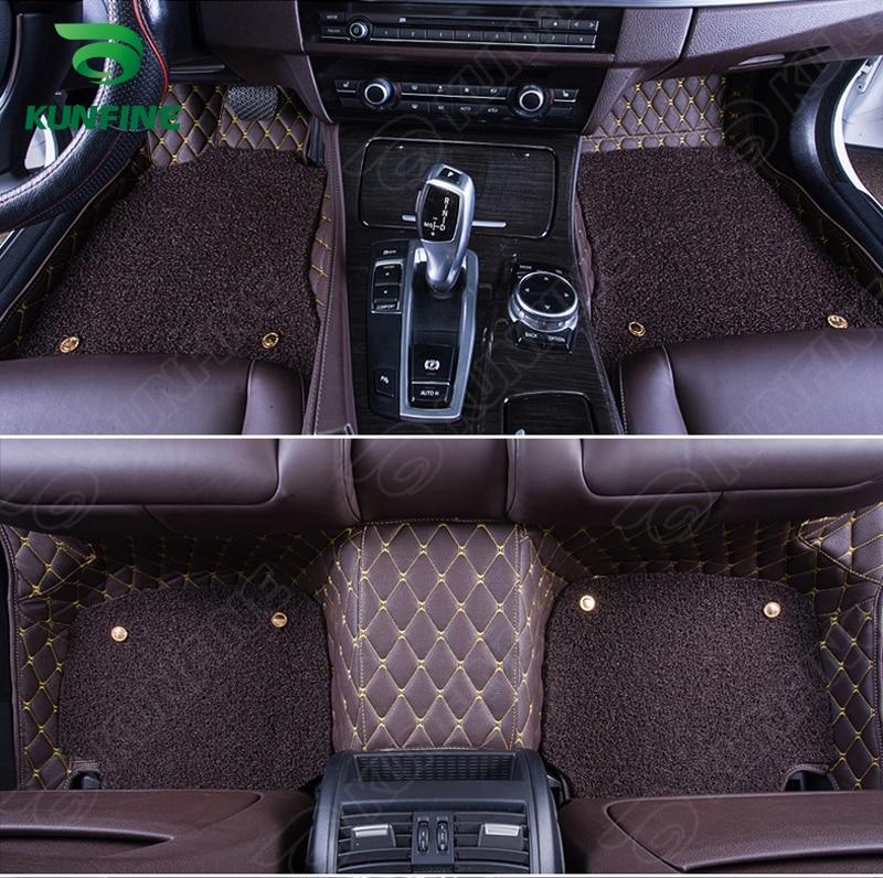 Tapis de sol de voiture 3D pour Audi Q5 tapis de pied coussin de pied de voiture avec une couche Thermosol tampon de bobine