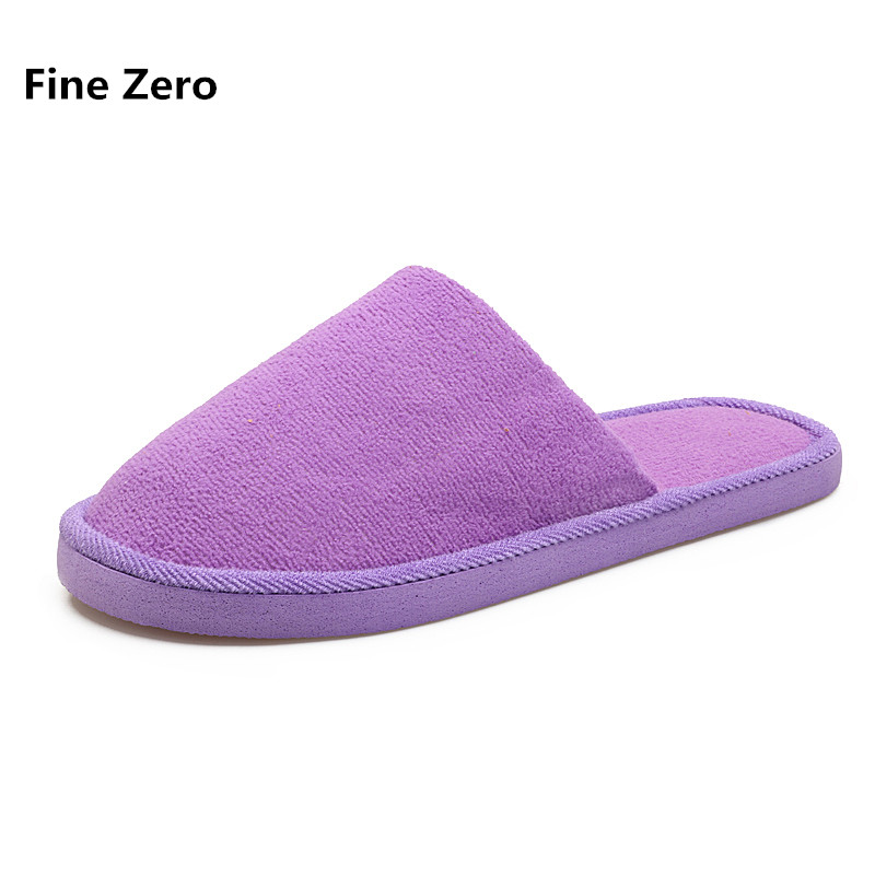 Fine Zero Women Slippers Indoor Home Floor Unisex Slippers Couple Winter Warm Plush Shoes Ladies Animaux Pantufas For Bedroom купить