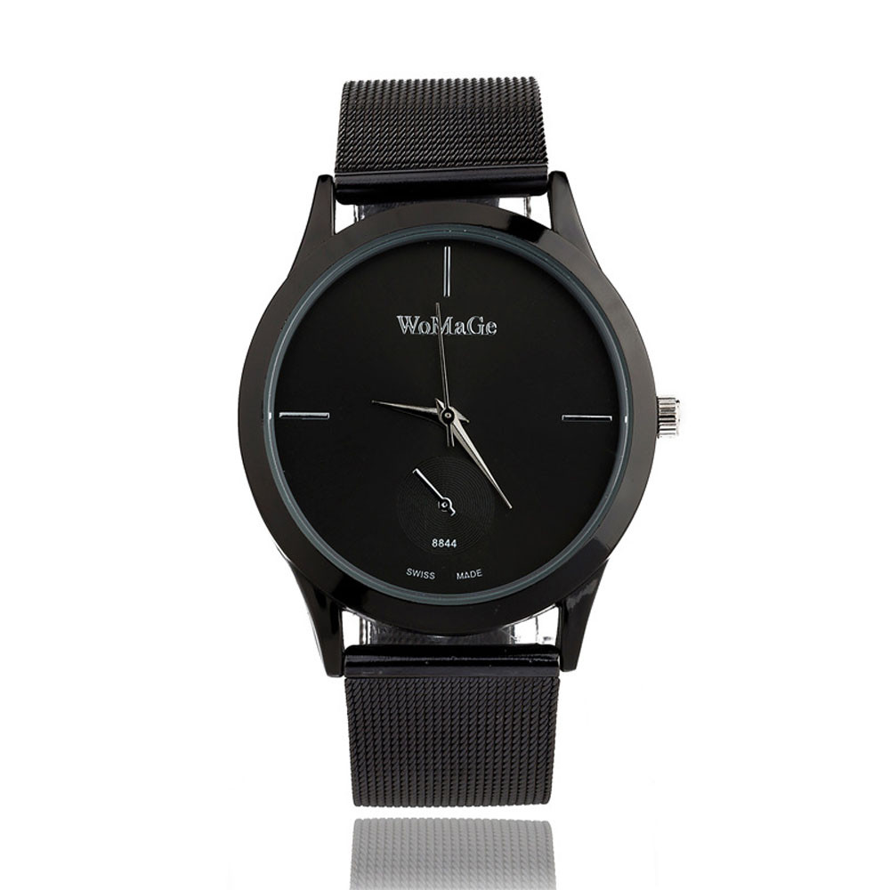 malloom New Casual Womens Quartz Watches Lady Watch Womens Stainless Steel Quartz-Watch Clock Reloj Mujer Gril Gifts