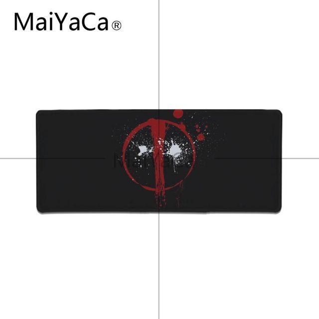 MaiYaCa Top Quality Deadpool iron Man High Speed New Mousepad Large Gaming Mouse Pad Lockedge Mouse Mat Keyboard Pad