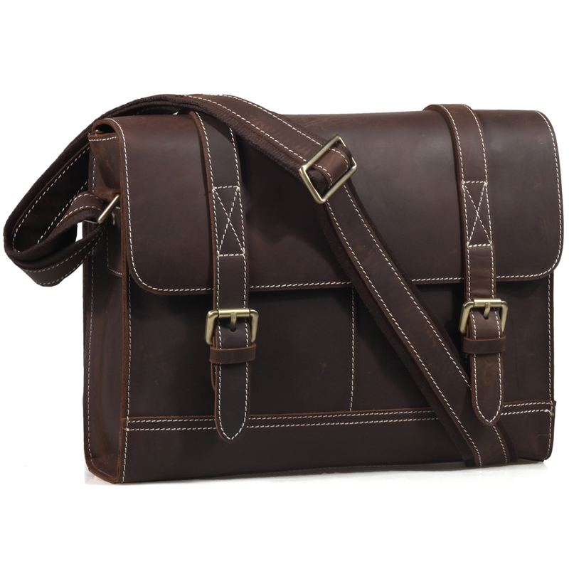 Aliexpress.com : Buy TIDING Vintage Style Men Designer Leather Bag ...