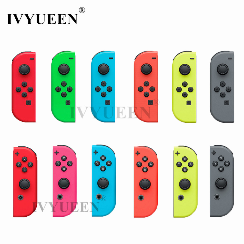 IVYUEEN Green Pink Red Housing Replacement Cover for Nintend Switch NS Joy-Con Shell Joy Cons Controller Case Game Accessories ivyueen green pink red housing replacement cover for nintend switch ns joy con shell joy cons controller case game accessories