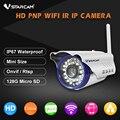 Vstarcam c7815wip bala 720 p hd sem fio wifi ip câmera de segurança ao ar livre à prova d' água cctv compatibilidade e suporte 128g tf cartão