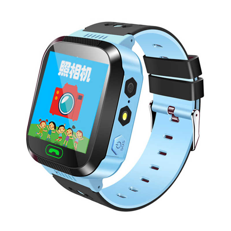 Waterproof GPS Smart Watch With Camera Flashlight Baby Watch SOS Call Location Device Tracker for Kid Safe PK Q100 Q90 Q60 Q50