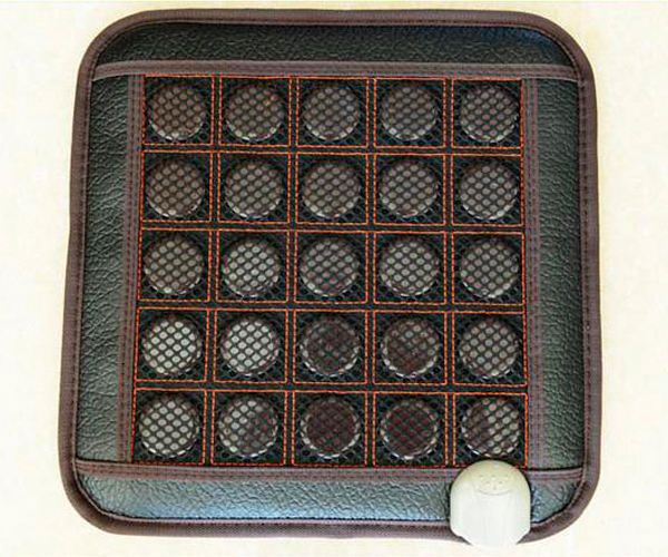 Good Quality! Natural Jade Mat Tourmaline Heat Cushion Body Health Care Tourmaline Pad AC220V 45*45CM For Sale good quality natural jade mat tourmaline heat chair cushion far infrared heat pad health care mat ac220v 45 45cm free shipping