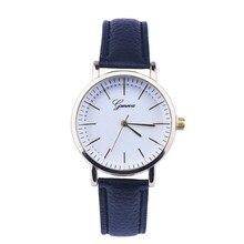3 colors Fashion Watch Women Leather Analog Quartz Wrist Quartz Watch montre femme Watches relogio feminino 2017
