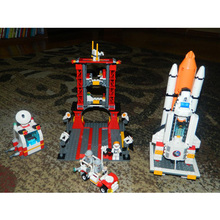 GUDI Aerospace Building Blocks Kid Enlighten Block Space rocket Launch center Building Blocks compatible Legoe Toys For Children