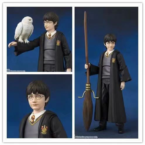 New Product Harri Potter Hermione Granger Ron Weasley PVC Action Toy Figures Collection Model Toys For Children Birthday Gifts