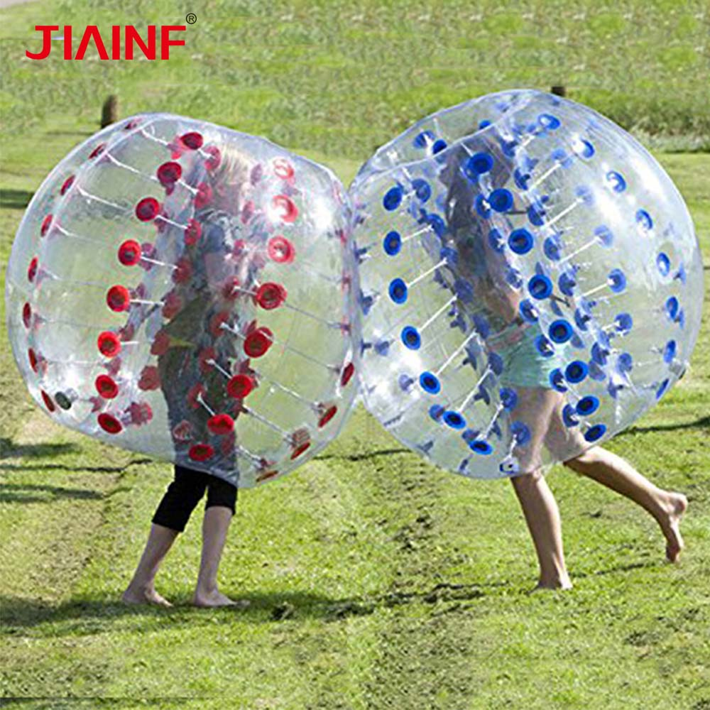 1m TPU Zorb Soccer Bubble Ball Air Bumper Bubble Soccer Ball for Children Adult Outdoor Game