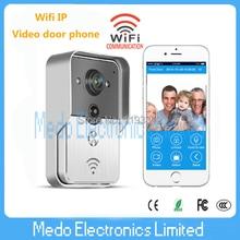 2015 New Wifi IP Video door phone for smartphone&tablets iso andriod app wireless video doorbell Access Control door intercom
