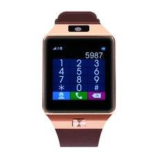 SOGRACE DZ09 Passometer Bluetooth Relógio Inteligente Esporte Anti-perdida com Tela Sensível Ao Toque Câmera Cartão TF para Android PK GT08 a1 Smartwatch