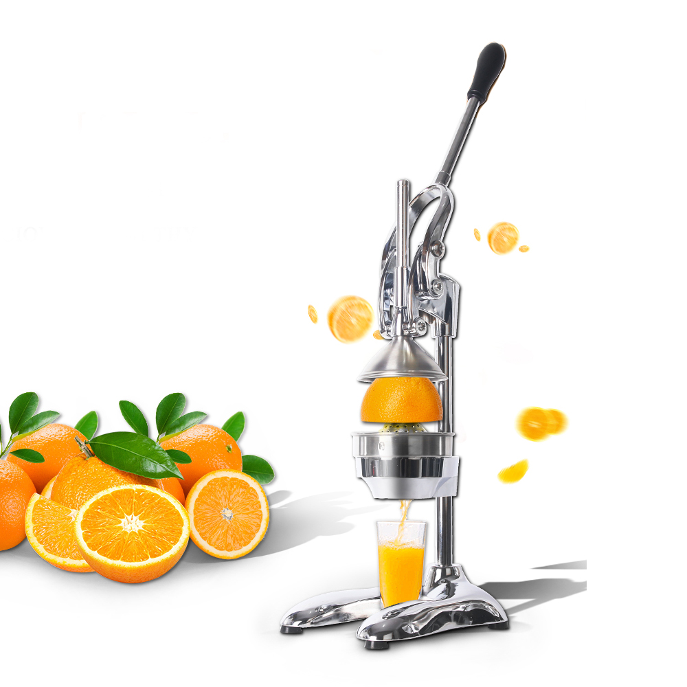 Presse à main manuelle en acier inoxydable commerciale ou domestique presse-agrumes presse-agrumes citron orange extracteur de jus de fruits