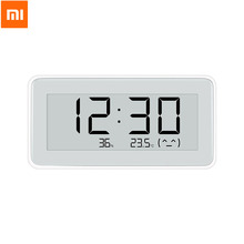 Xiaomi Mijia טמפרטורת לחות ניטור חשמלי דיגיטלי מטר מדחום BT4.0 Bluetooth אלחוטי חכם הצמדת Mijia APP