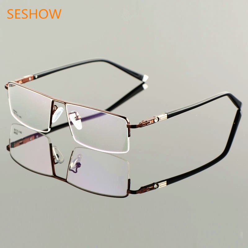 Espectáculo de gafas para hombres de negocios, gafas de media - Accesorios para la ropa