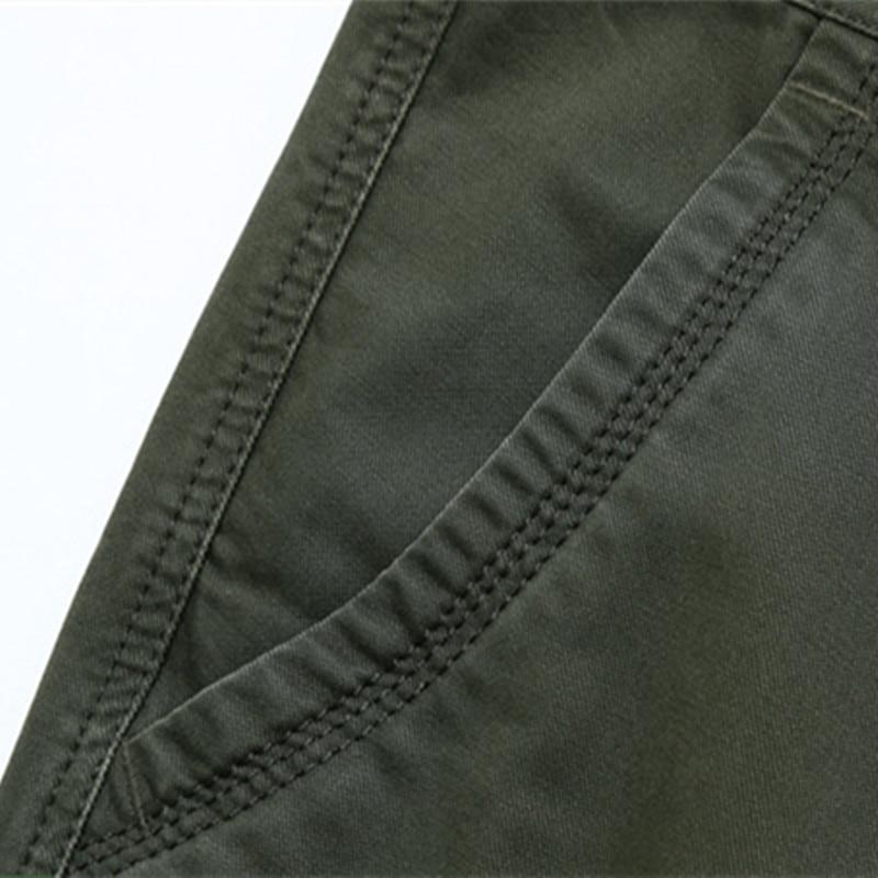 NIANJEEP Pantalones de Carga Para Hombre de Algodón Militar - Ropa de hombre - foto 5