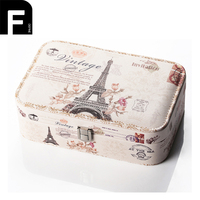 European Style Jewelry Packaging Box Jewellery Casse Cosmetic Makeup Case Beauty Organizer Container Graduation Birthday Gift