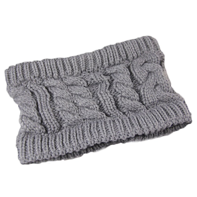 4pcs Fashion Knitted Warmer Headband Turban for Ladies Girls Crochet Stretch Knit Hairband Headwear Head Bands Hair Accessories