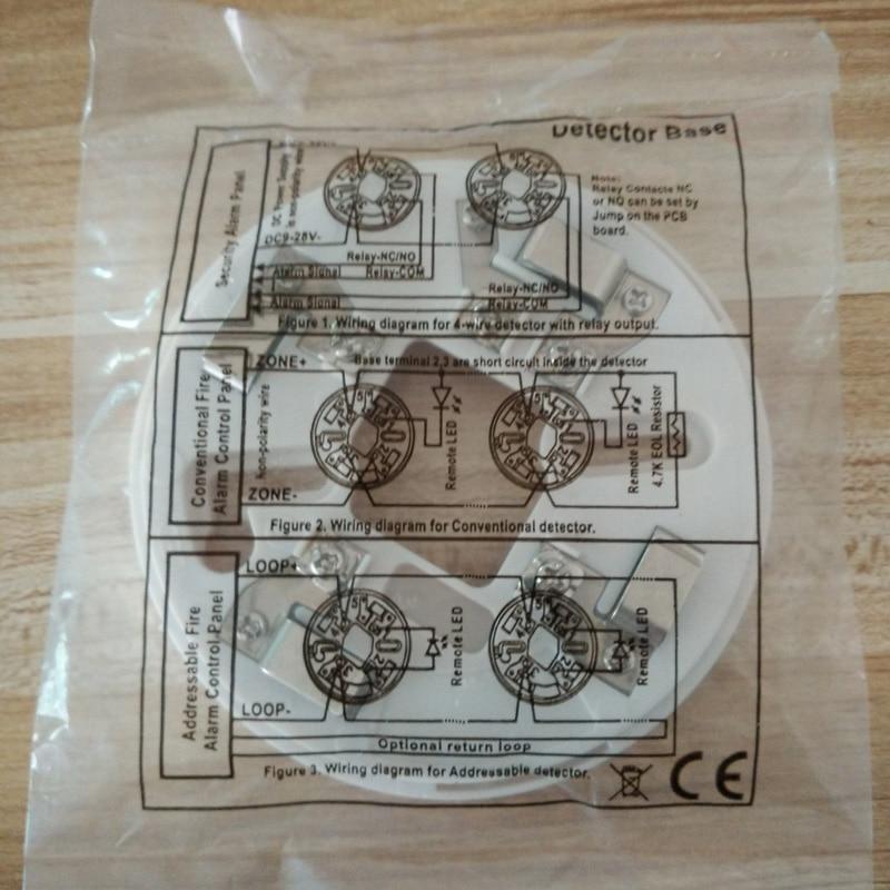 tasuta saatmine Tavaline suitsu ja kuumuse detektor koos - Turvalisus ja kaitse - Foto 2