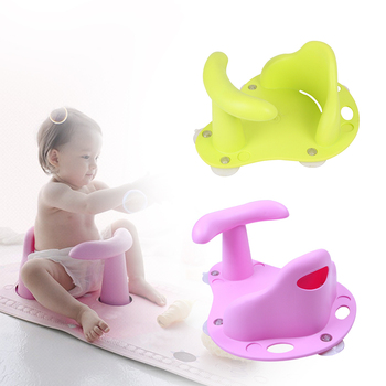 أربعة اللون حوض مقعد حوض استحمام الطفل سادة حصيرة كرسي سلامة الأمن مكافحة زلة الطفل الرعاية الرضع حمام حوض دعم مقعد استحمام غسل لعب