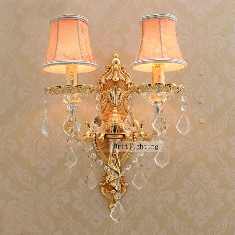 Wall crystal lamp for bathroom ampshade contemporary wall light wall crystal lamp for bathroom ampshade contemporary wall light luxurious sconce light beautiful wall lights indoor wall fixture in wall lamps from lights mozeypictures