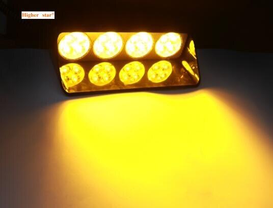 Higher star DC12V 48W Led car windscreen warning light,emergency lights,police strobe light