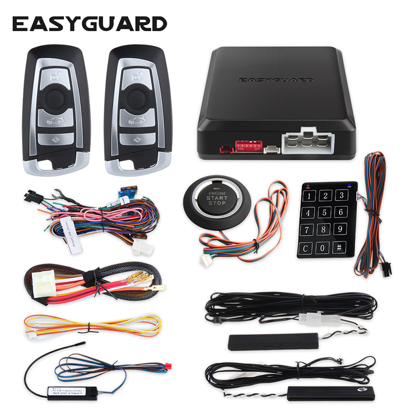 EASYGUARD Universal immobilizer bypass module for car alarm push button start