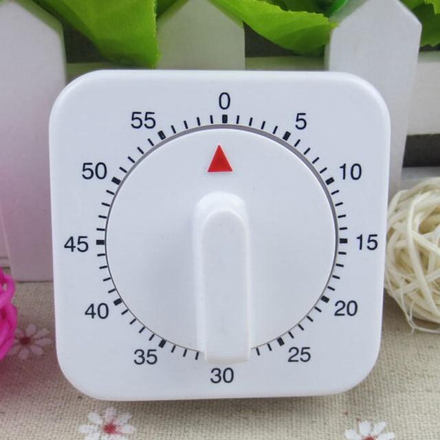 60 min Timer Meccanico Gioco Count Down Contatore Clock Per Cucina ...
