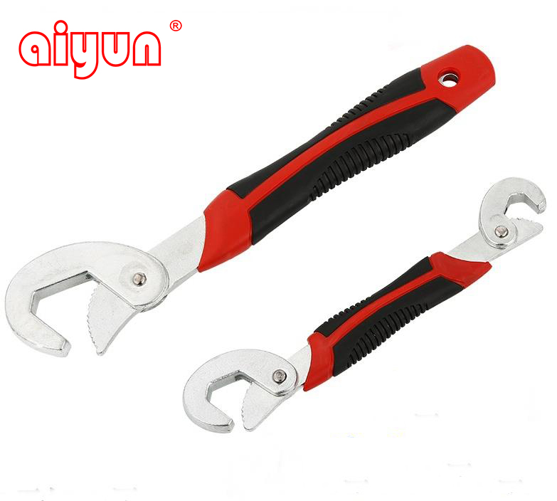 9-32mmRapid universal wrench chrome pipe wrench spanner tools quickly repair plumbing faucets