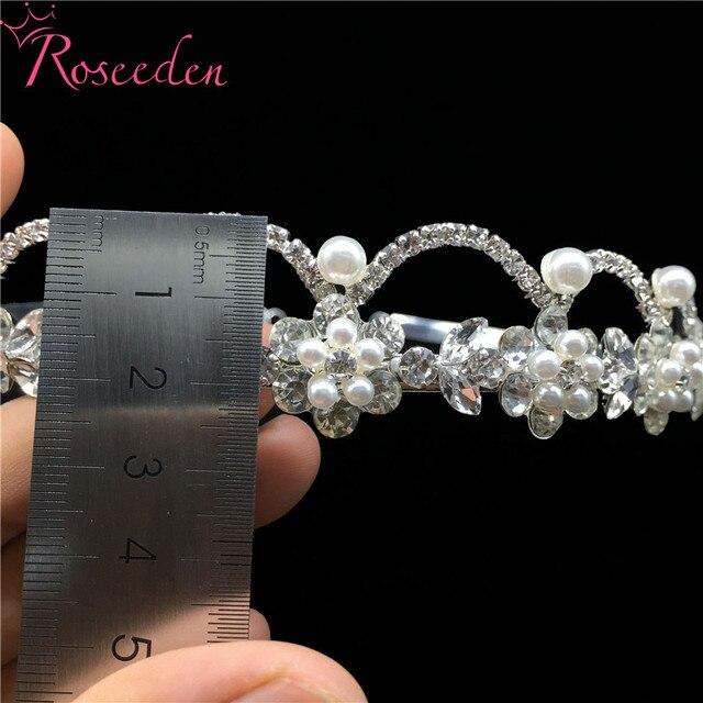 Купить романтические узорчатые стразы свадебная диадема из кристаллов картинки