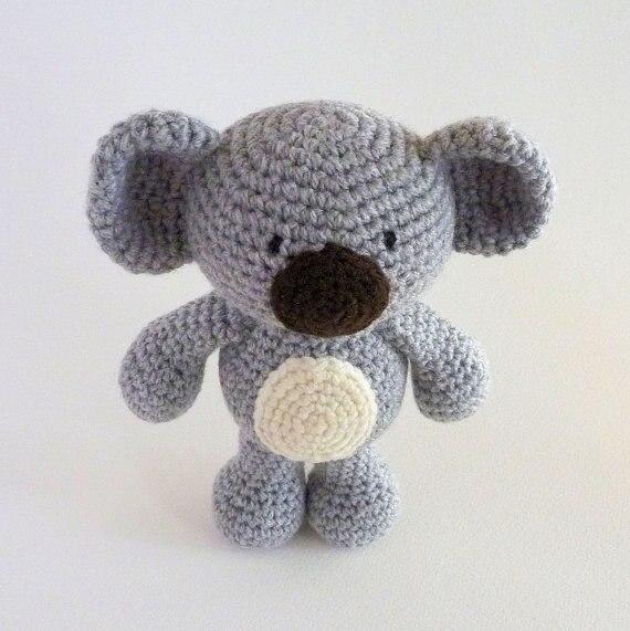 Amigurumi Koala Australian Animal Toy Crochet Koala Crochet