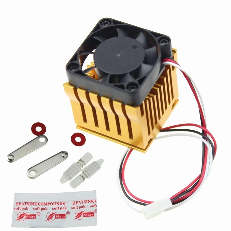 10pcs Aluminum Cooling 9x9x12MM Heat Sink RAM Radiator Heatsink Cooler JS