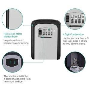 Image 3 - IMPORX anahtarlı kasa Hava Koşullarına Dayanıklı 4 Haneli Kombinasyon Anahtar Saklama Kilidi Kutusu Kapalı Açık şifreli kilit Gizli Tuşları saklama kutusu
