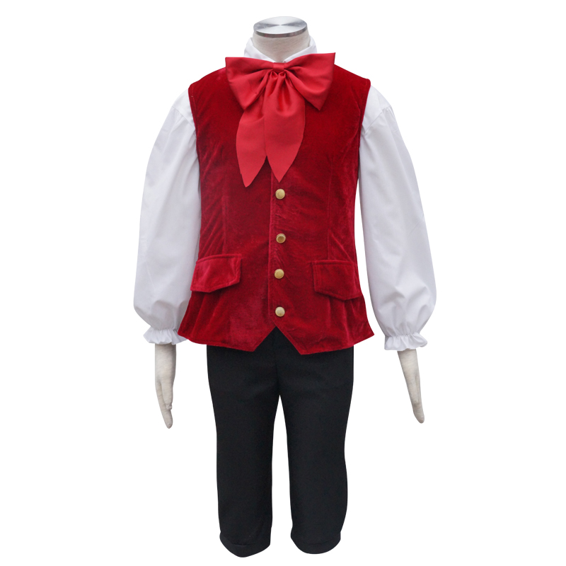 Le Fou Cosplay Costume Beauty and Beast Fantasy Halloween Christmas New Year Carnival Costumes For Men