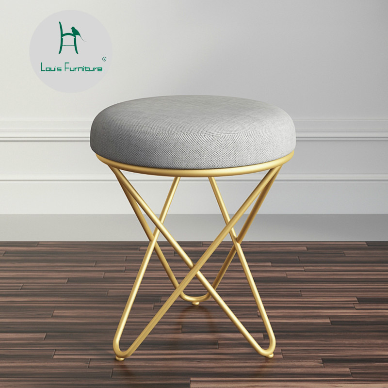 Swell Us 52 9 Louis Fashion Stools Ottomans European Home Make Up Dressing Bedroom Nordic Creative Modern Simple Chair In Stools Ottomans From Inzonedesignstudio Interior Chair Design Inzonedesignstudiocom