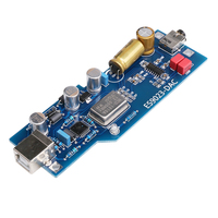 PCM2706 ES9023 Fever Level Audio DAC Sound Card Decoder Finished Product With OTG Headphone Amplifier AMP