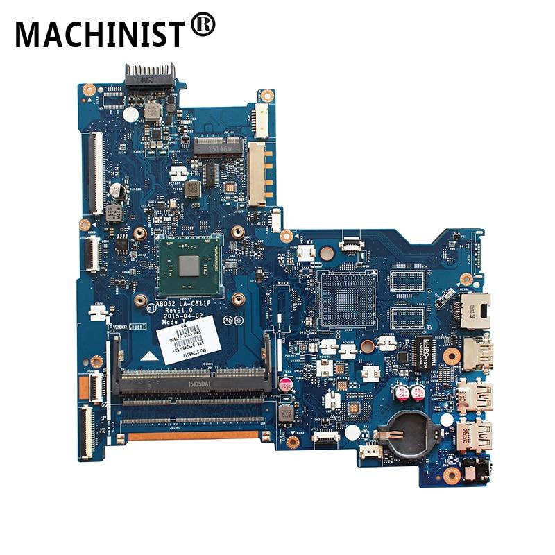 Original For HP pavilion 250 G4 15-AC laptop motherboard N3050 CPU DDR3 815248-501 815248-601 815248-001 ABQ52 LA-C811P