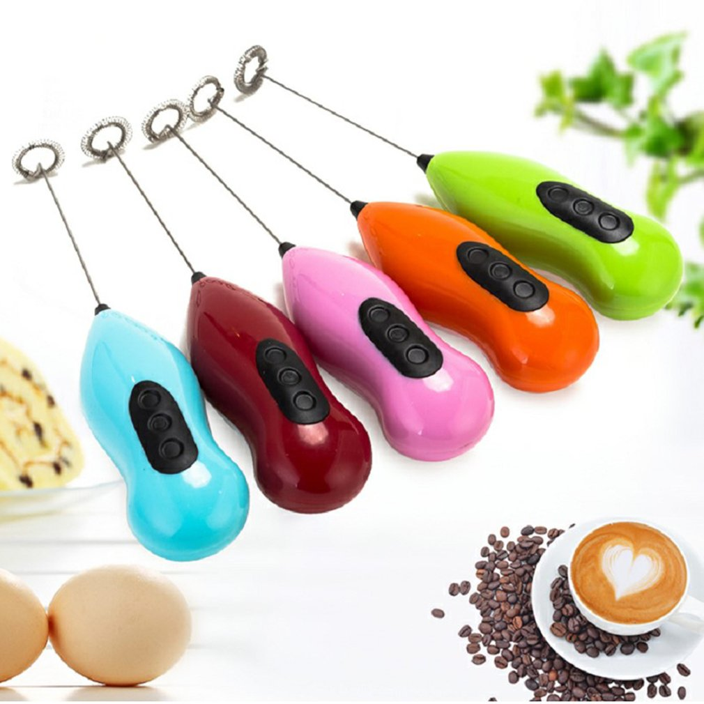 Manual Coffee Blender Egg Beater Bubbler Foamer Stir Cereal Baking Kitchen Tools Christmas Party Decoration - 5
