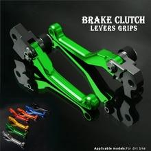 CNC aluminium Dirt Bike Motocross Pit Bike Pitbike freins leviers dembrayage pour Kawasaki KLX125 D TRACKER125 10 2016 KLX150S 2009 2013