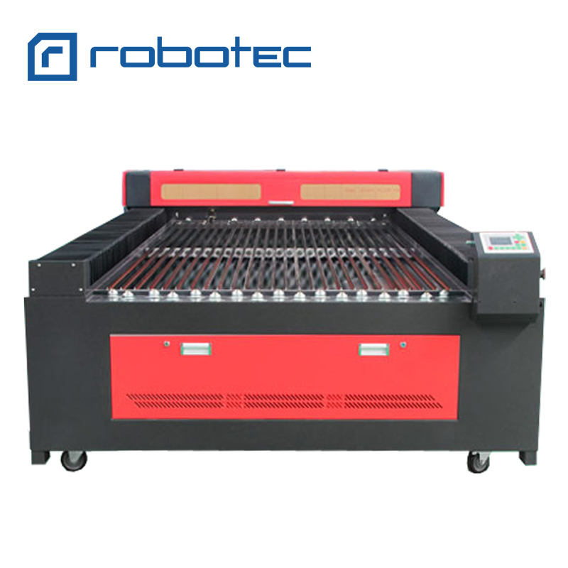 New 1300x2500 mm size 80w 100w 150w CO2 laser cutter cardboard cnc laser  cutting machine price MDF