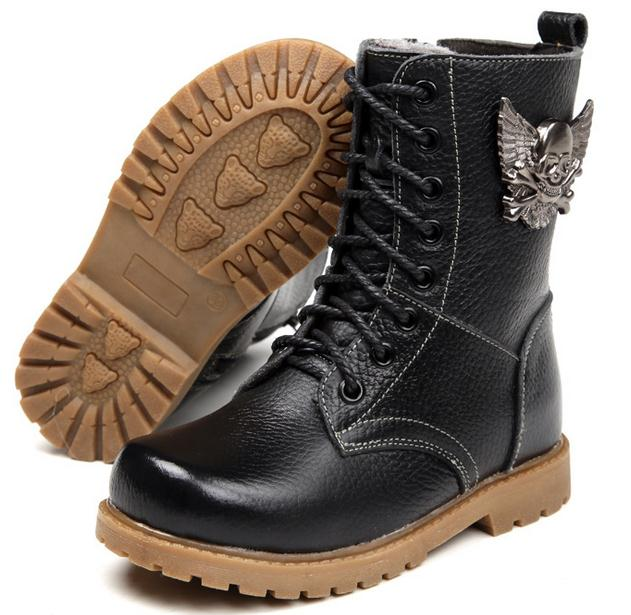 Popular Girls Leather Boots-Buy Cheap Girls Leather Boots lots ...