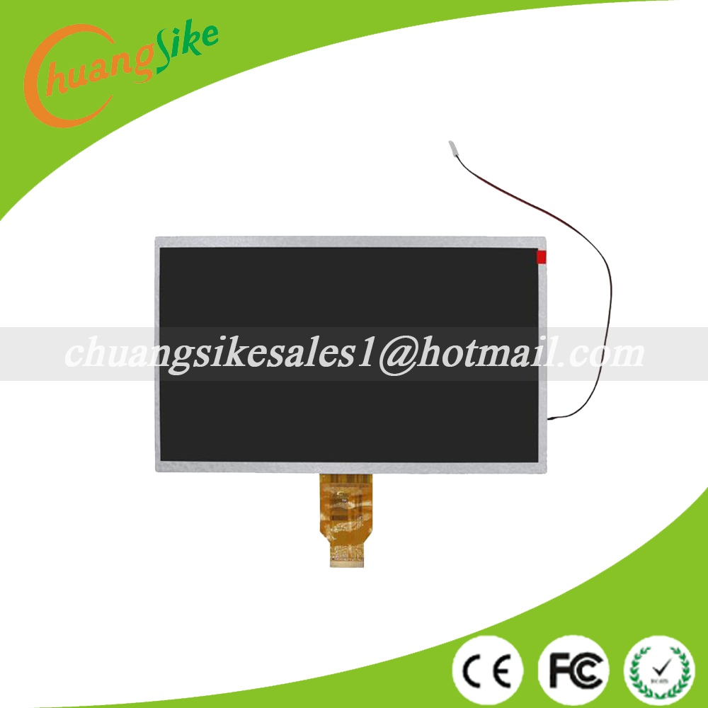 A+ New LCD For samsung N9106 10.1 with backlight cable WCD-400B010/H-H10118FPC-C1/YH101IF40-A/SL101DH01FPC-V0 235*143mm