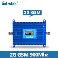 Lintratek agc gsm 리피터 900 mhz 70db 20dbm 2g 휴대 전화 신호 증폭기 900 mhz gsm 신호 부스터 리피터 KW20L-GSM