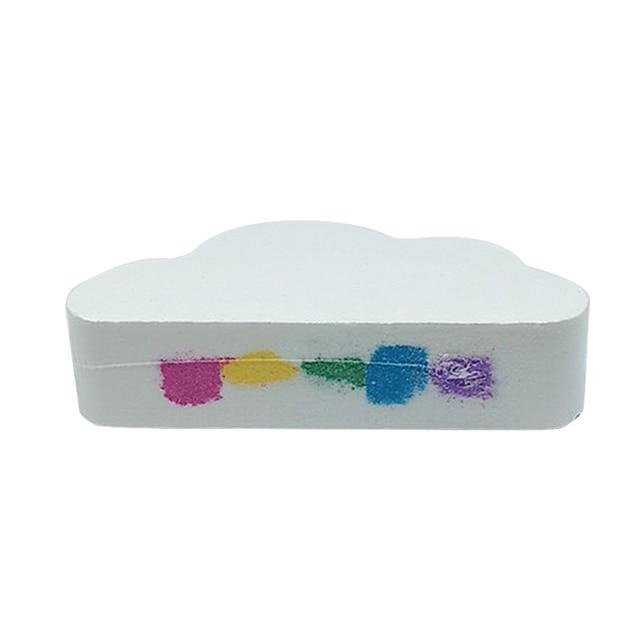 Natural Skin Care Cloud Rainbow Bath Salt Exfoliating Moisturizing Bubble Bath Bombs Ball 2