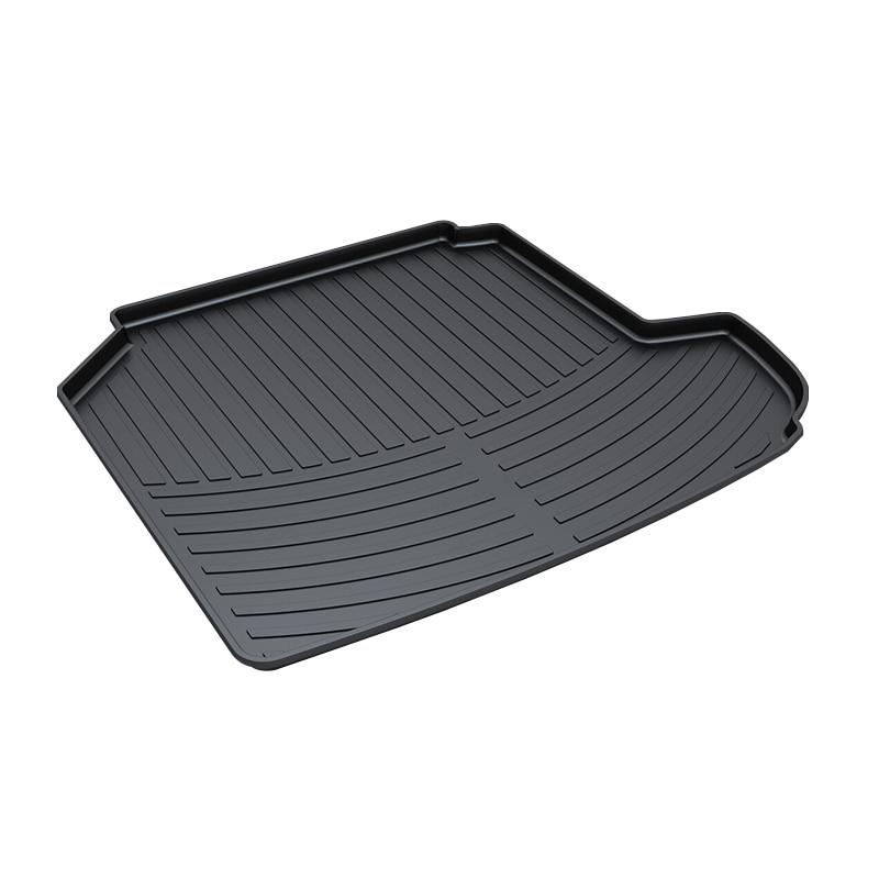 3D Trunk Mat for Peugeot 408 Waterproof Car Protector Carpet Auto Floor Mats Keep Clean Interior Accessories