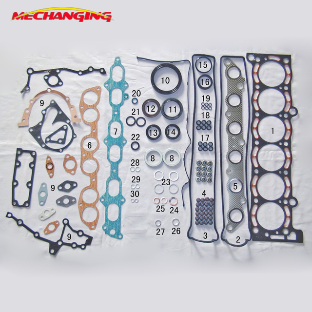 US $65 55 5% OFF|For TOYOTA SUPRA 7MGE 7MGTE 3 0L Engine Rebuild Kits  ENGINE Parts Full Gasket Set Engine Gasket Set 04111 42033 50127500-in  Engine